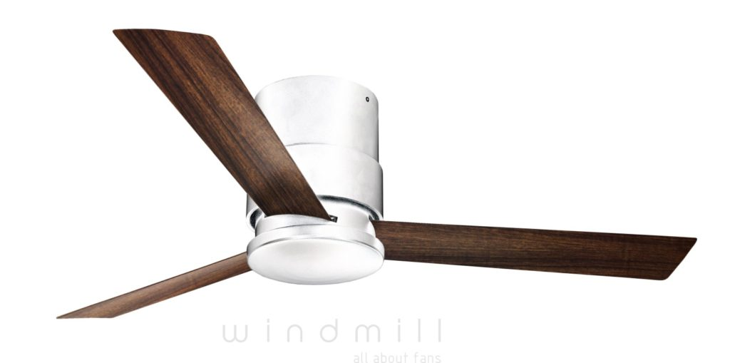 Sophisticated and modern design fan with clean Screw-less look. sturdy aluminium construction and high performance from windmill designer fans